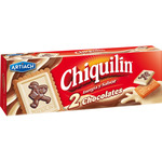 Chiquilín chiquilin galletas con tableta 2 chocolates de 150g. en caja