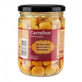 Carrefour altramuces de 250g.