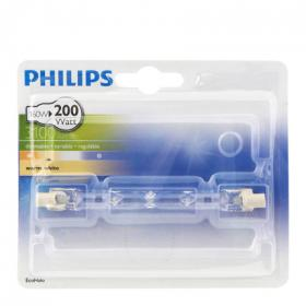 Philips bombilla ecohalo lineal 160w r7s