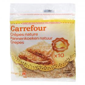 Carrefour crepes natural de 300g.