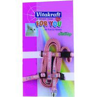 Vitakraft correa arnes decorado vitakraft, pack 1 unidades