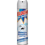 Bloom max insecticida volador sensitive concentrado moscas mosquitos sin olor de 40cl. en spray
