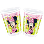 Minnie vaso decorado 8 de 20cl. en paquete