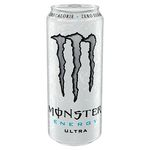 Monster energetica ultra white de 50cl.