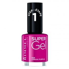 Rimmel esmalte uñas super gel kate nº 025 urban purple