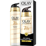 Olay total effects 7 en 1 duo crema hidratante serum fp 20 dosificador de 50ml.