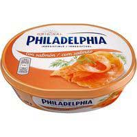 Philadelphia kraft queso salmon de 175g.