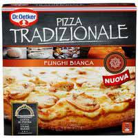 Dr Oetker pizza tradizionale funghi bianca