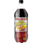 Don Simon tinto verano limon sin alcohol de 1,5l. en botella