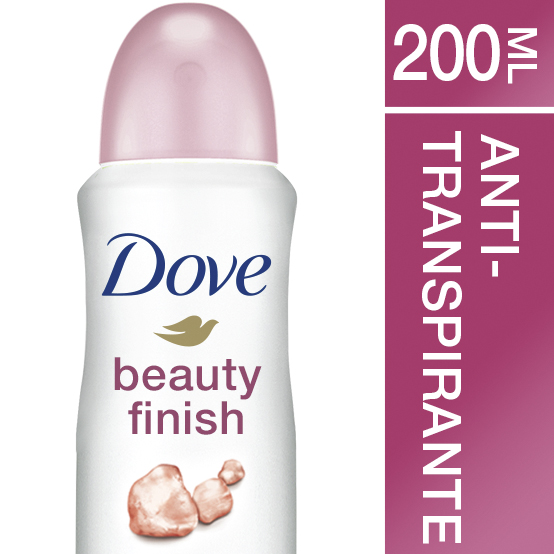 Dove dove beauty finish aerosol de 20cl. en spray