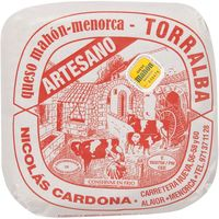La Torralba queso semicurado mahon al corte de 300g.