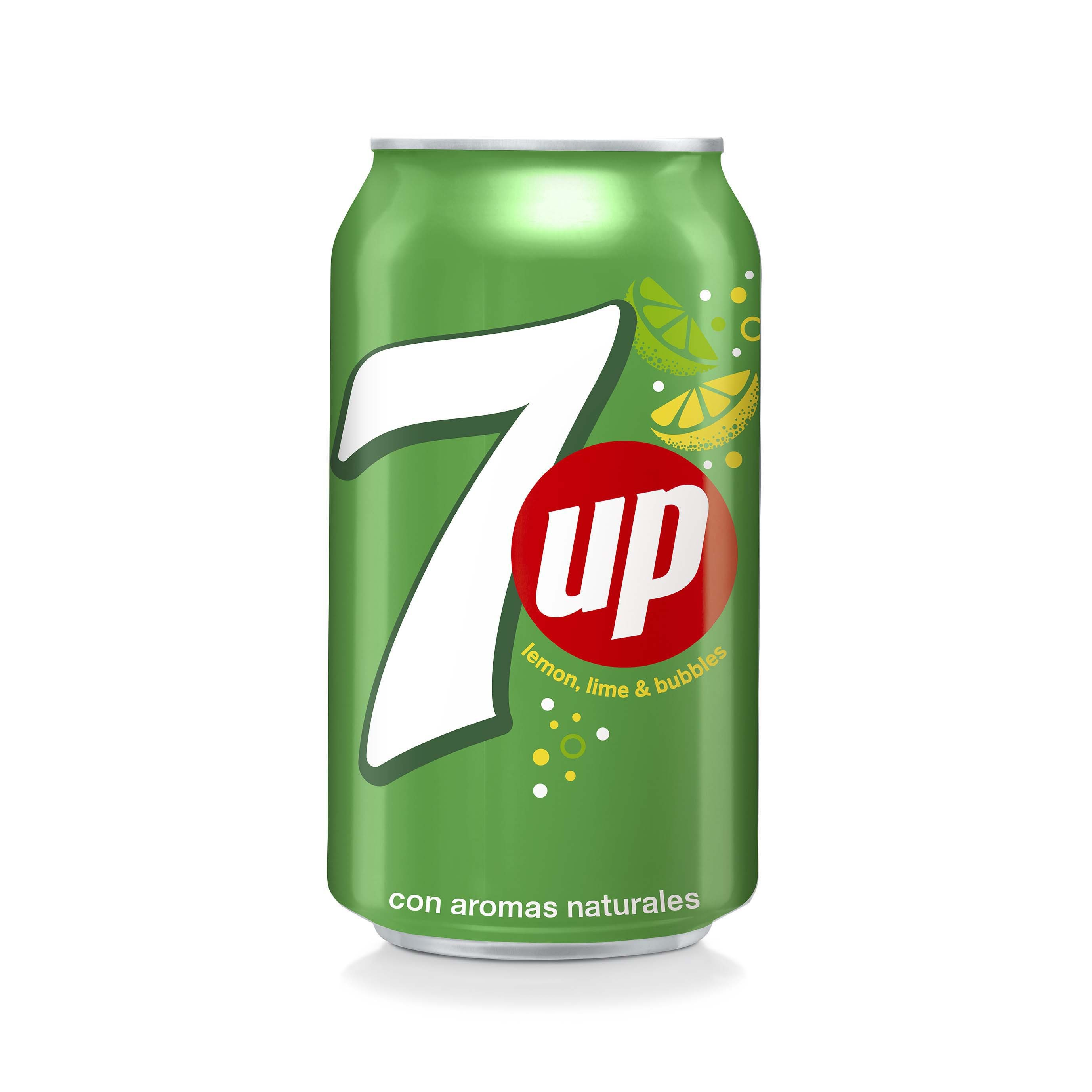 7up lima refresco lima limon de 33cl. en lata