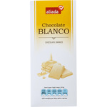 Aliada chocolate blanco tableta de 100g.