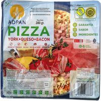 Adpan pizza bacon york queso de 380g.