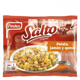 Findus salteado jamon queso de 400g.
