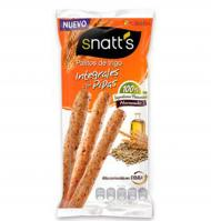 Snatts palitos integrales de 60g.