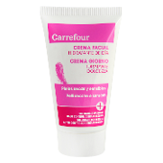Carrefour crema facial dia piel seca sensible de 50ml.