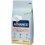 Advance puppy sensitive alimento perro adulto con salmon arroz de 12kg. en paquete