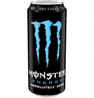 Monster refresco absol zero de 50cl.