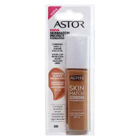 Astor maquillaje skin match protect foundation nº 300 beige