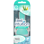 Wilkinson maquinilla depilatoria intuition naturals aloe vitamina sensitive care blister recambio