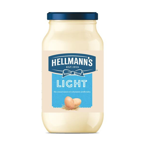 Hellmanns mayonesa light de 43cl.