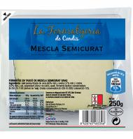 Condis queso mezcla semi cuña de 250g.