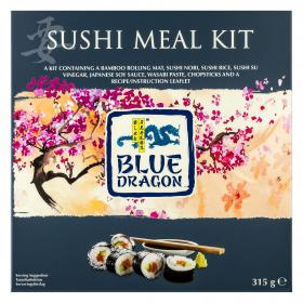 Blue Dragon sushi meal kit de 333g.