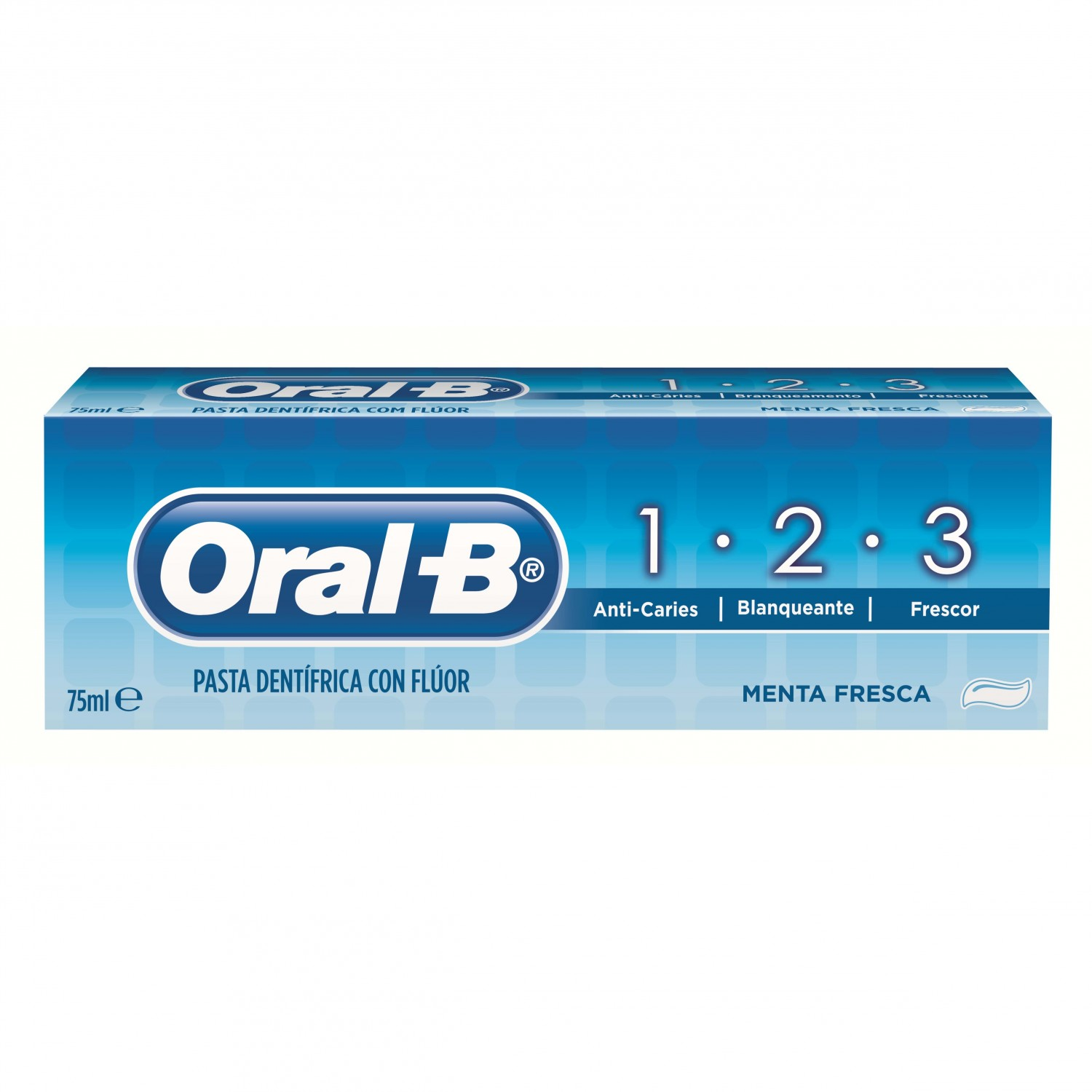 Oral B dental 1 2 3 tubo de 75ml.