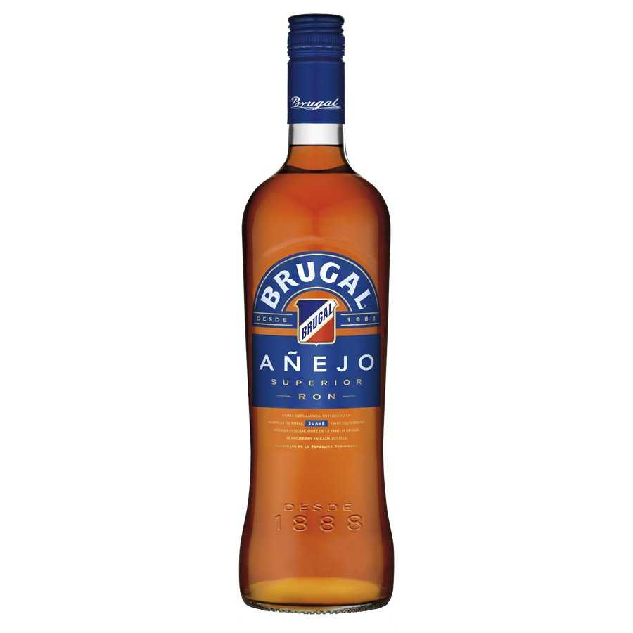 Brugal ron ron superior añejo de 70cl. en botella