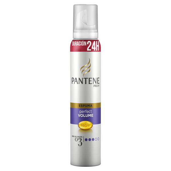 Pantene pro v espuma perfect volume nivel fijacion 03 de 25cl. en spray