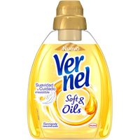 Vernel suavizante soft&oils gold de 75cl. en botella