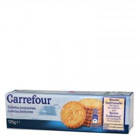 Carrefour galletas bretones de 125g.