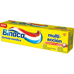 Binaca pasta dientes multi accion tubo de 75ml.