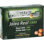 Diet Radisson jalea real fresca envase 10 sticks individuales estuche de 10cl. de 1g.