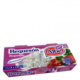 Albe requeson light de 150g. por 2 unidades