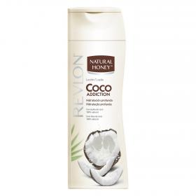 Natural Honey locion hidratante coco addiction de 33cl. en bote