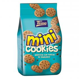 Tirma mini cookies con pepitas chocolate de 100g.