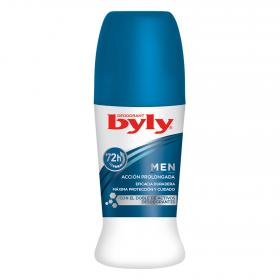 Byly desodorante 72h men roll on de 75ml.