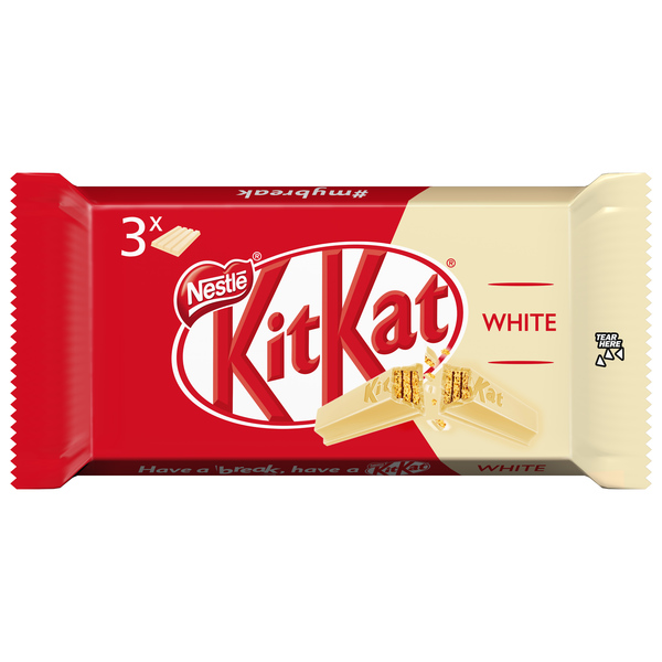 Kit Kat barritas chocolate blanco por 3 unidades
