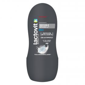 Lactovit desodorante men invisible eficaz roll on de 50ml.