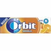 Orbit chicle naranja lc de 14g.