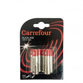Carrefour pack pilas alcalinas lr03 aaa 6 ud