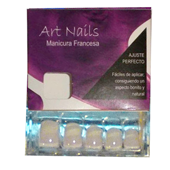 Art Nails uñas postizas manicura francesa 24