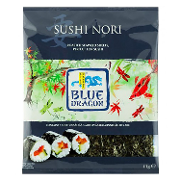 Blue Dragon sushi nori de 11g.