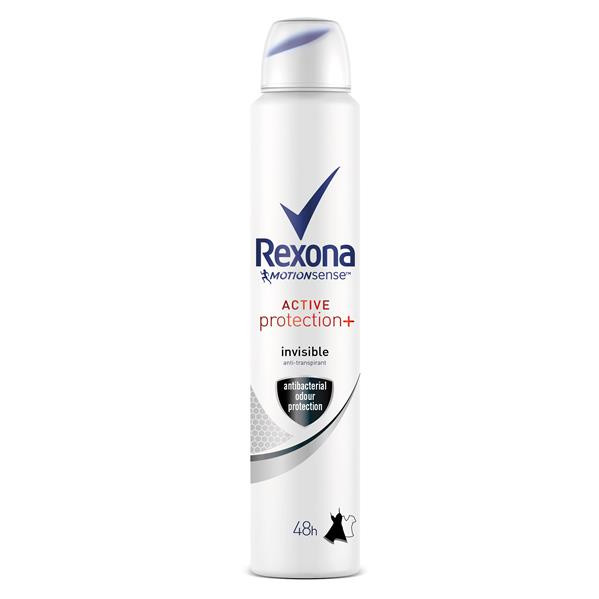 Rexona motion sense desodorante active protection women invisible antitranspirante de 20cl. en spray
