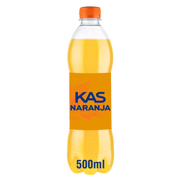 Kas refresco naranja de 50cl. en botella