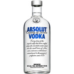 Absolut vodka sueco de 70cl. en botella