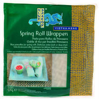 Blue Dragon masa rollitos primavera wrappers de 134g.
