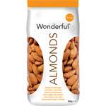 Wonderful almendras naturales con piel de 200g.